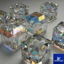 10MM_Crystal_AB_Swarovski_Cube_Art_5601