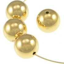 12MM Smooth Gold Plate Ball