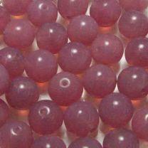 14MM Rose Opal Translucent Druk Ball