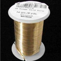 16 Gauge Gold Tarnish Resistant Wire