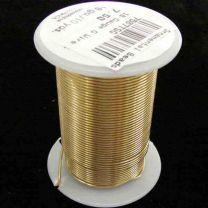 18 Gauge Gold Tarnish Resistant Wire