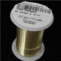 20 Gauge Gold Tarnish Resistant Wire
