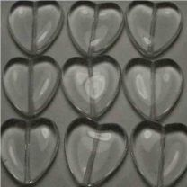 23MM Crystal Heart