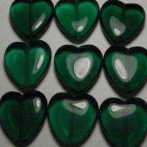 23MM Emerald Heart