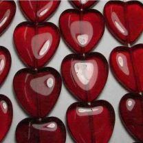 23MM Ruby Heart