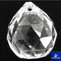 24x20MM Facetted Crystal Ball Chandelier Pendant