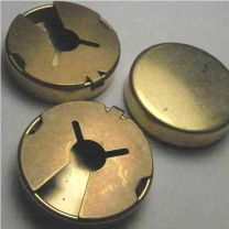25MM Gold Button Cover