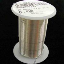 26 Gauge Silver Tarnish Resistant Wire