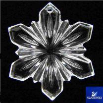 28mm Crystal Snowflake Pendant