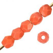 3MM Orange Fire Polish Ball