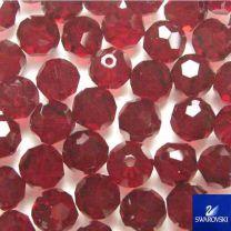 3MM Swarovski Ruby Ball Art 5000