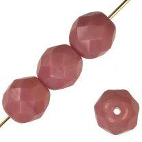 4MM Opaque Pink Fire Polish Ball