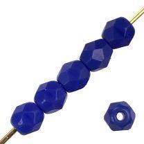 4MM Royal Blue Fire Polish Ball