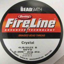4lbSize_B_Crystal_Berkley_Fireline_Braided_Bead_Thread