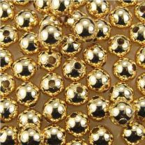 5MM Smooth Gold Plate Ball