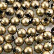 6MM Antique Brass Plate Ball