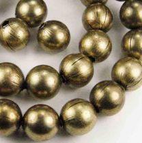 8MM Antique Brass Plate Ball