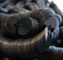 8MM Black Flat Sequin