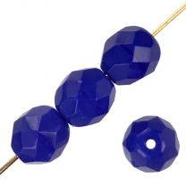 8MM Royal Blue Fire Polish Ball