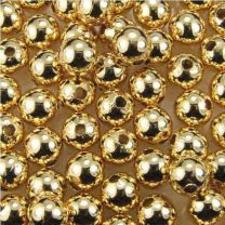 8MM Smooth Gold Plate Ball
