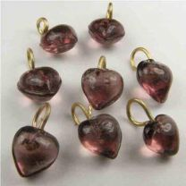 Amethyst_Heart_6MM_Brass_Loop