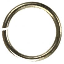 Antique Copper Plate 12MM 18 gauge Round Jump Ring