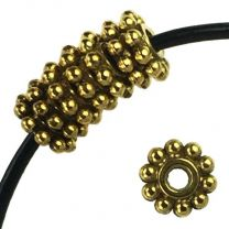 Antique_Gold_Plate_65MM_Rondelle_Spacer_with_Beaded_Edge