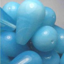 Aqua Opal Tear Smooth 27x16MM