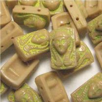 Beige_With_Gold_Pharaoh_2Hole_