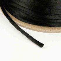 Black 3MM Rattail Satin Cord