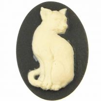Black_With_Ivory_Cat_Cameo_25x