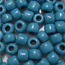 Blue_Turquoise_7MM_Czech_Crow_Bead