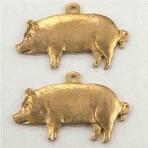 Brass 19x10 Pig Diestruck
