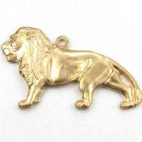 Brass 26x16 Lion Diestruck