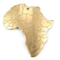 Brass_28x26_Africa_Continent