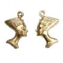 Brass_3D_Nefertiti_Head_Charm_