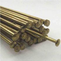 Brass 7 inch 18 Gauge Hatpin Rod With 3MM Head