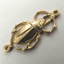 Brass Beetle Connector 22x10mm