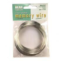 Bright Silver 225 Inch Memory Wire