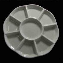 Ceramic Bead Storage Dish with 9 compartmen