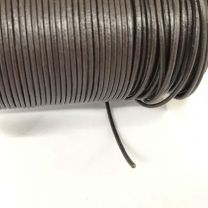 Chocolate 15MM Leather Cord