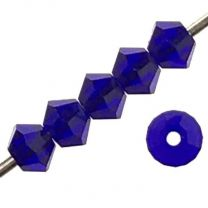 Cobalt 3MM Swarovski Bicone Art 5328