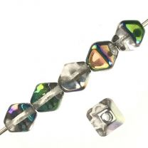 Crystal With Vitrail 6MM Square Bicone