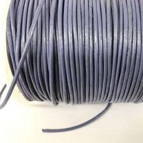 Denim 15MM Leather Cord