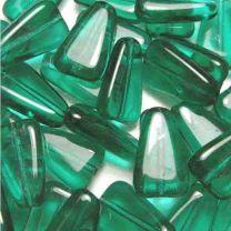 Emerald 16x10MM Triangle Bead