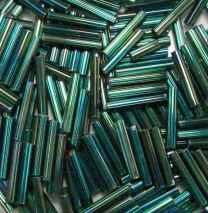 Emerald_AB_Silver_Lined_Size_5_12MM_Bugle_Bead