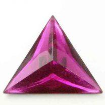 Fuchsia_25mm_Triangle_Plastic_