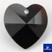 Garnet 14MM Swarovski Heart Pendant