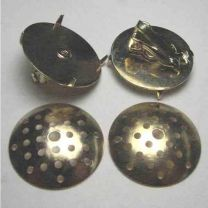 Gold 22mm Collage Cage With Earclip