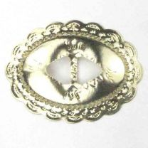 Gold_Concho_Oval_Scalloped